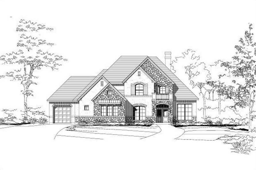 Main image for house plan # 15019