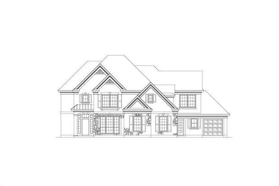 Main image for house plan # 15480