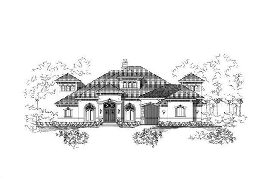 Main image for house plan # 15398