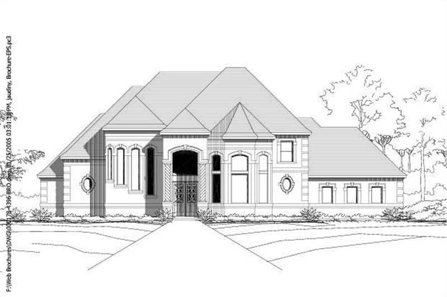 Main image for house plan # 15623