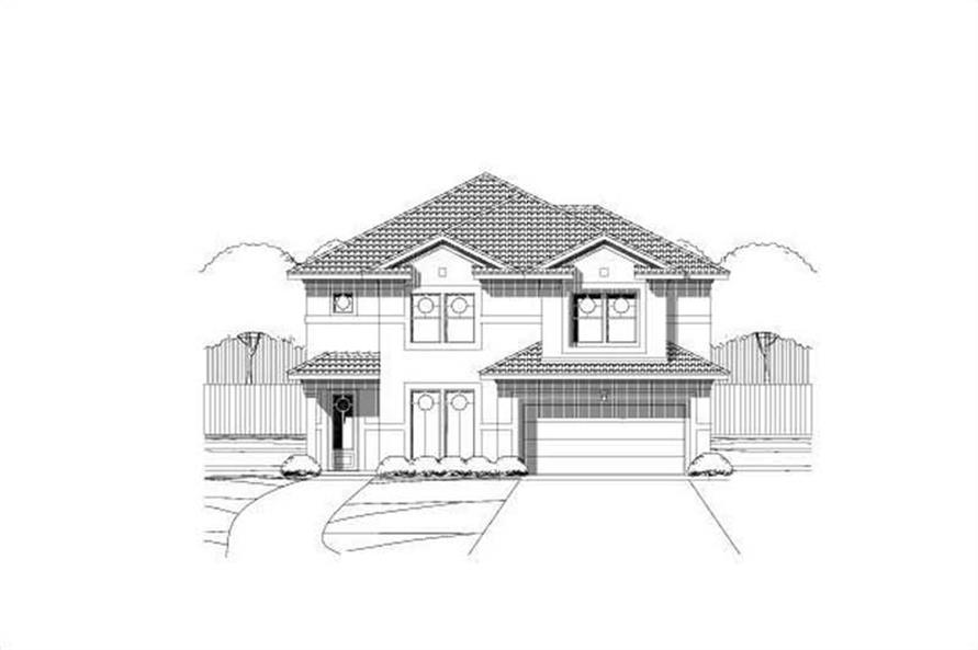 Main image for house plan # 19623