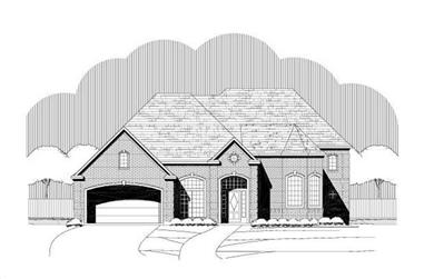 4-Bedroom, 4275 Sq Ft Luxury Home Plan - 156-1980 - Main Exterior