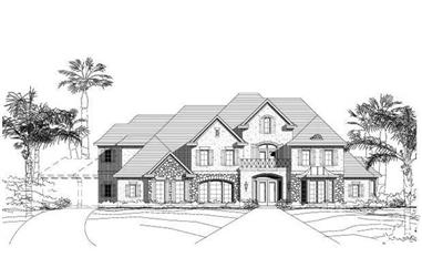 Main image for luxury house plan # 19655