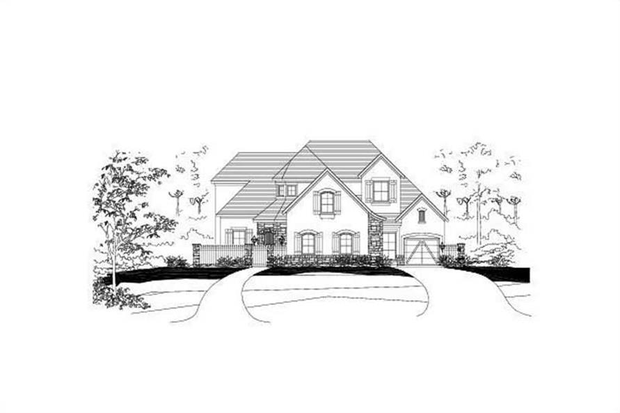 Main image for house plan # 15613