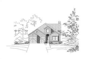 3-Bedroom, 2522 Sq Ft Ranch Home Plan - 156-1994 - Main Exterior