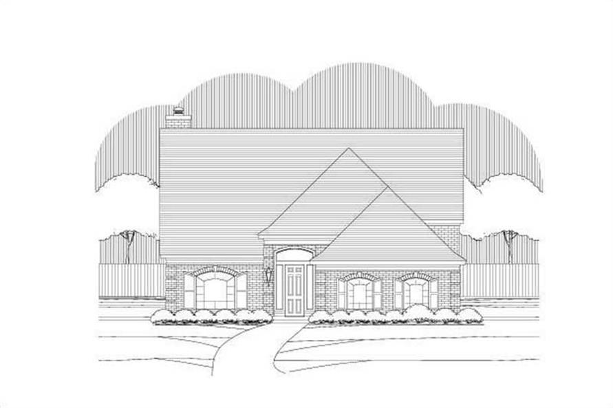 Main image for house plan # 19517