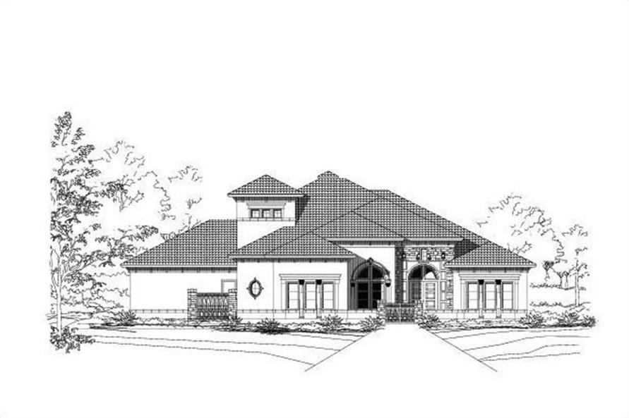Main image for house plan # 15524