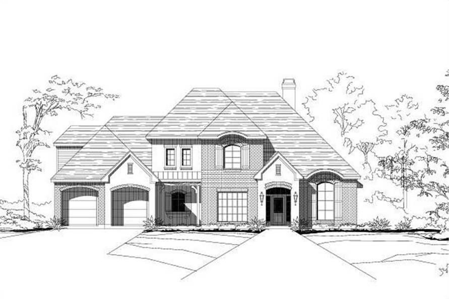Main image for house plan # 15771