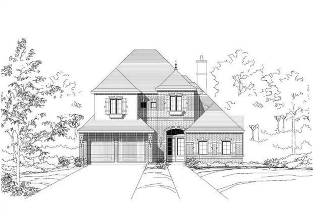 Main image for house plan # 15416