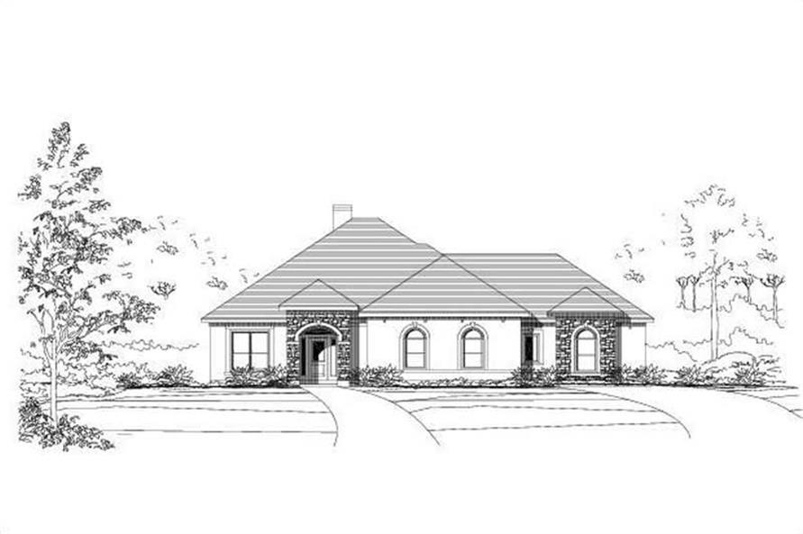 Main image for house plan # 15434