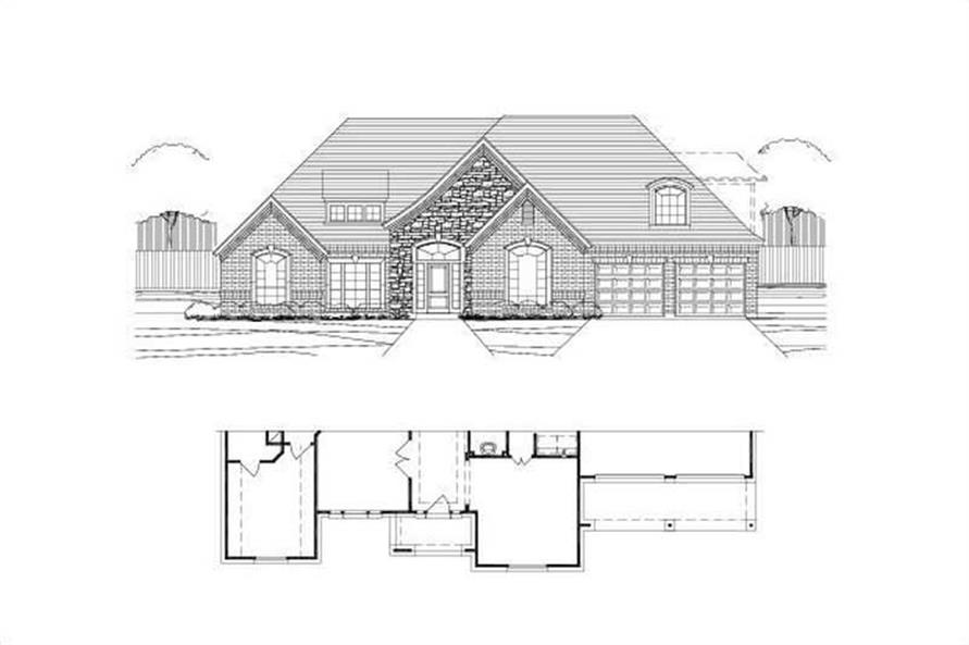 Main image for house plan # 19558