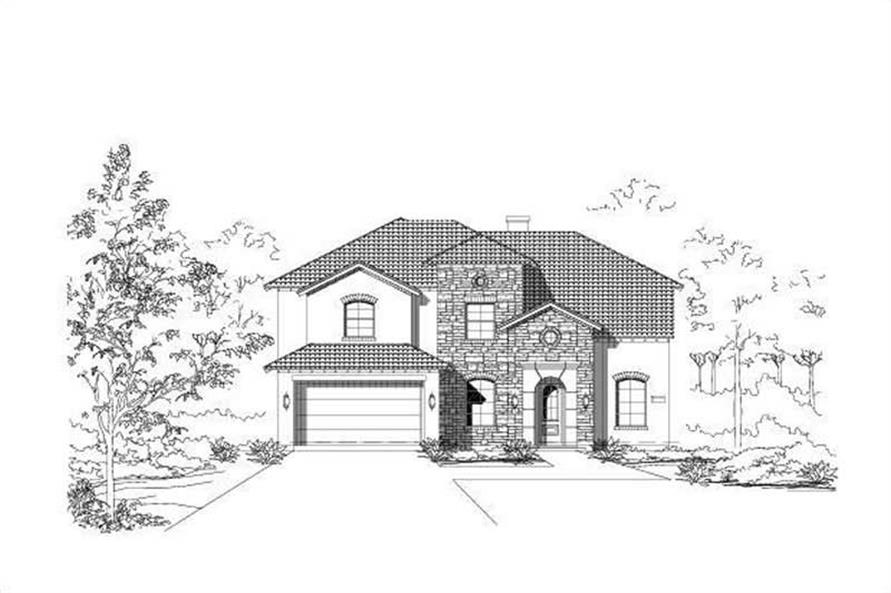 Main image for house plan # 15422