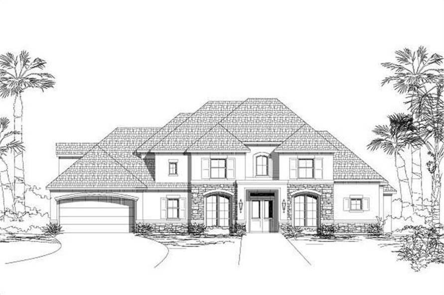 Main image for house plan # 15419