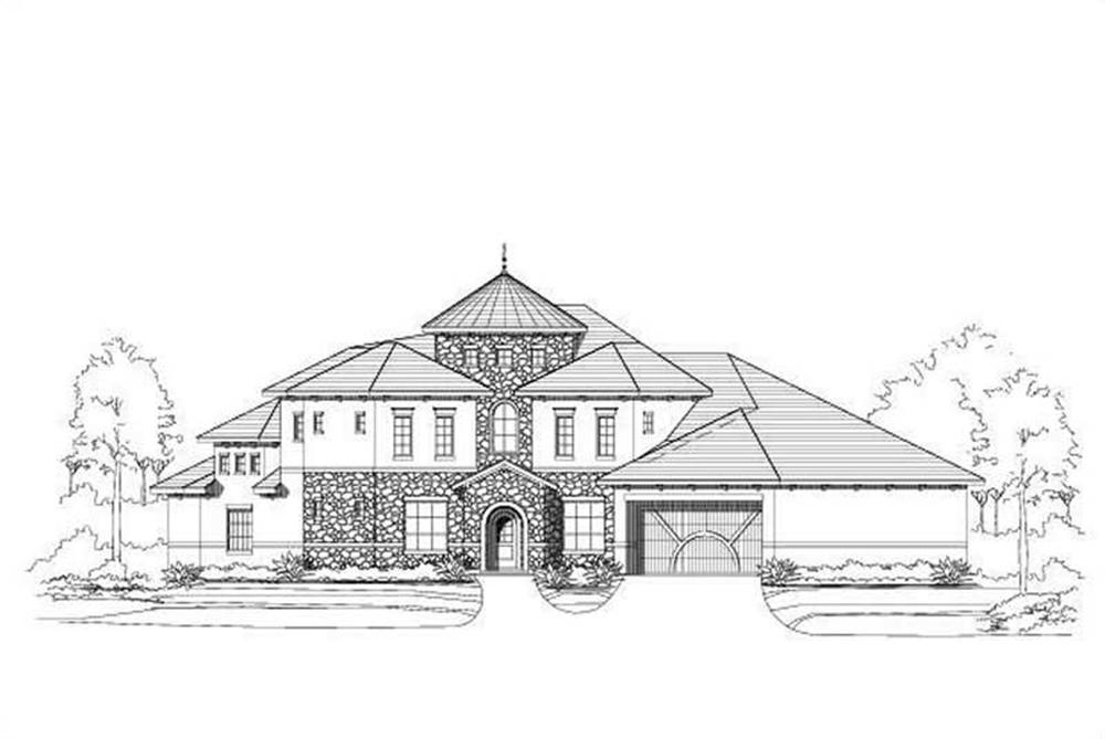 Main image for house plan # 15774