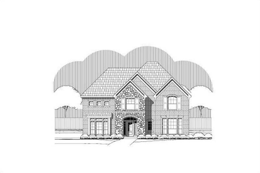 Main image for house plan # 19683