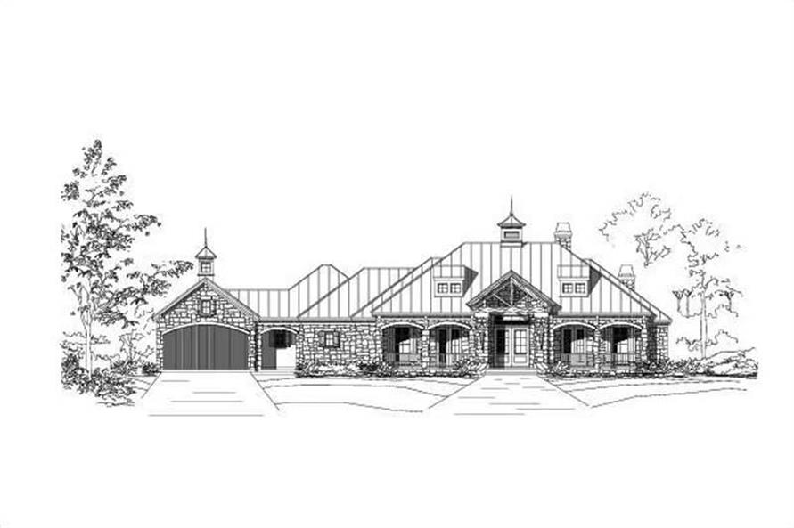 Main image for house plan # 15348