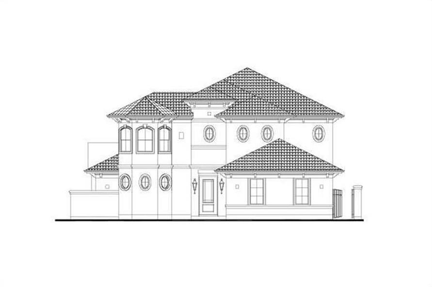 Main image for house plan # 15908