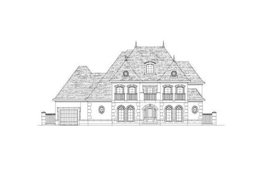 Main image for house plan # 15899