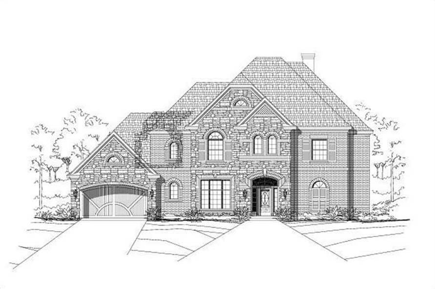 Main image for house plan # 15982
