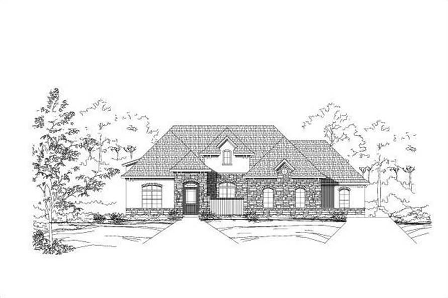 Main image for house plan # 15672