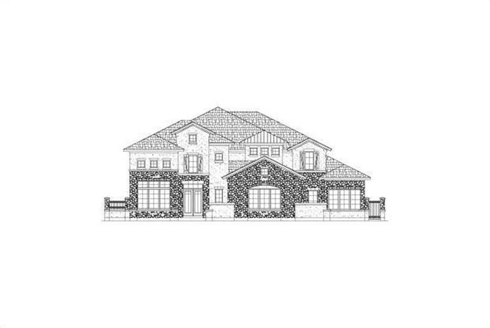 Main image for house plan # 15891
