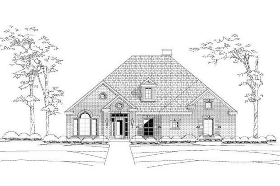 Main image for house plan # 15041