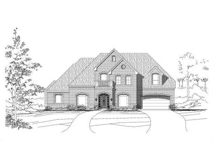 Main image for house plan # 15571