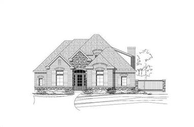 3-Bedroom, 2700 Sq Ft Country Home Plan - 156-2070 - Main Exterior
