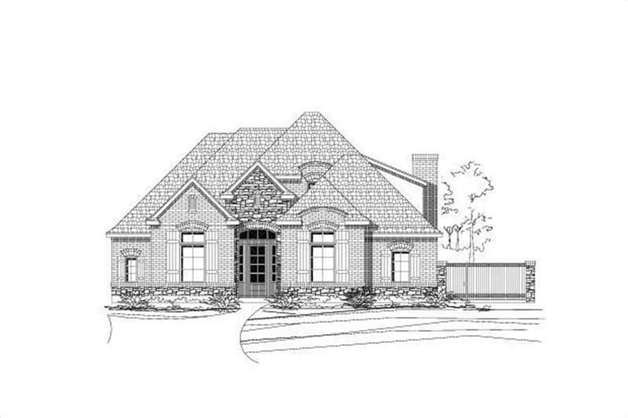 Main image for house plan # 15784