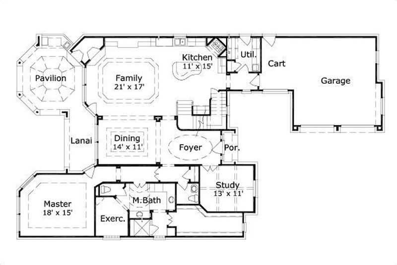 layout for small bedroom country house plans home design ohp 30548 15784 15784