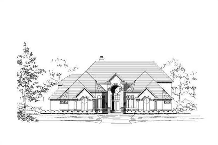 Main image for house plan # 15781