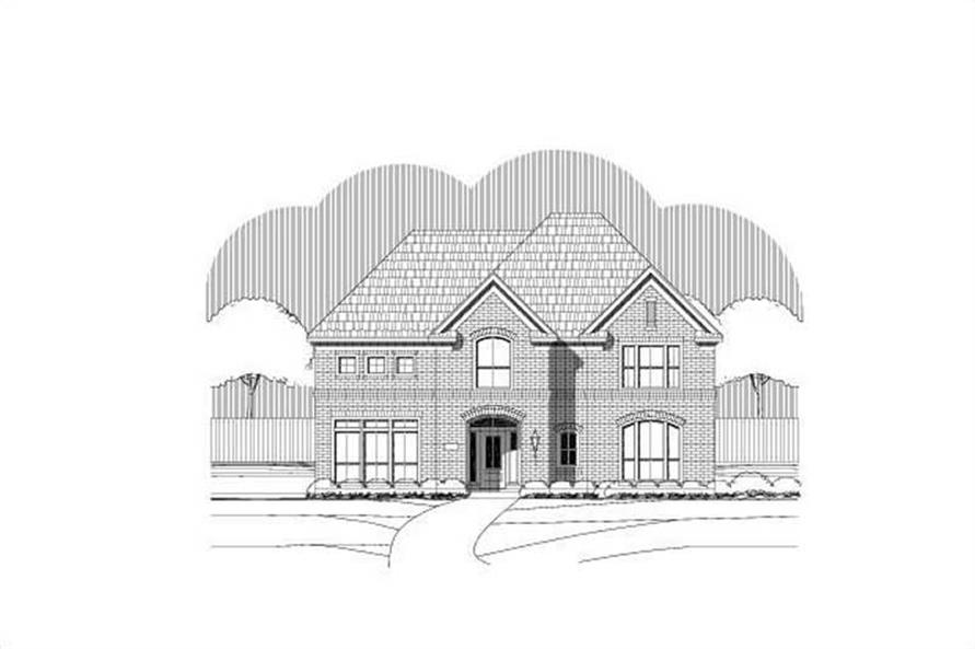 4-Bedroom, 3630 Sq Ft Luxury Home Plan - 156-2078 - Main Exterior
