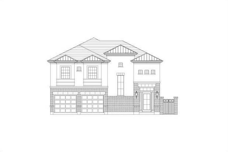 3-Bedroom, 3070 Sq Ft Traditional House Plan - 156-2085 - Front Exterior