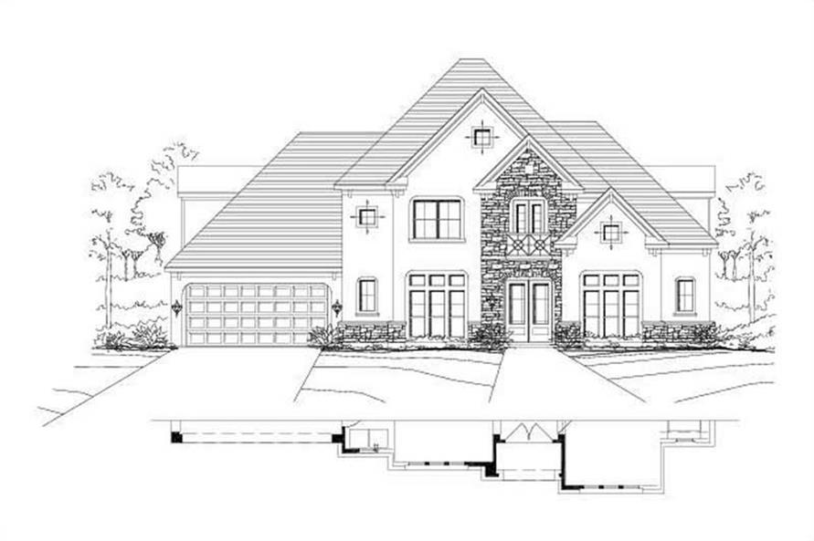 Main image for house plan # 15463