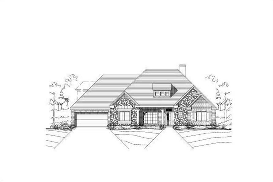 Main image for house plan # 15534