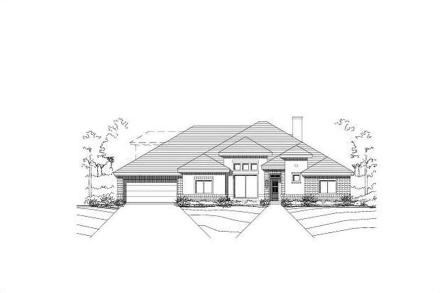 Main image for house plan # 15535