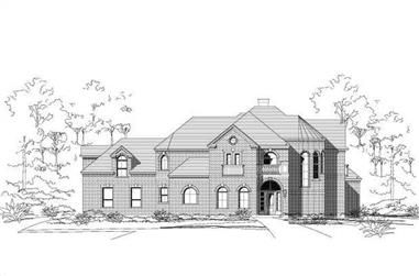 4-Bedroom, 4282 Sq Ft Luxury Home Plan - 156-2096 - Main Exterior