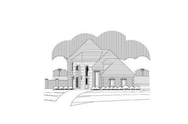 3-Bedroom, 3037 Sq Ft Traditional Home Plan - 156-2102 - Main Exterior