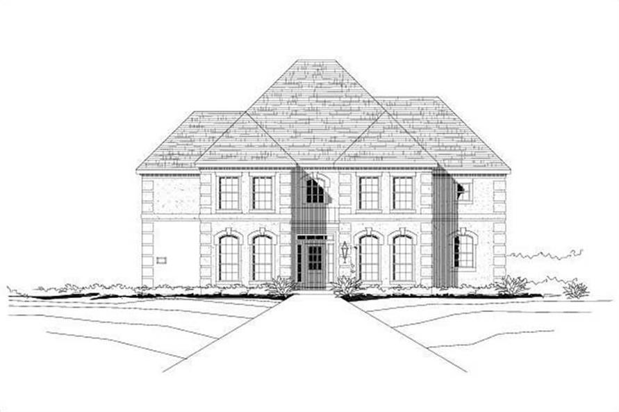 Main image for house plan # 15680