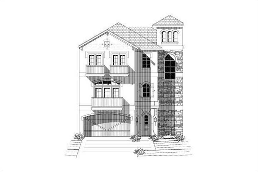 Main image for house plan # 19513