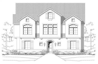 3-Bedroom, 3540 Sq Ft Multi-Unit Home Plan - 156-2107 - Main Exterior