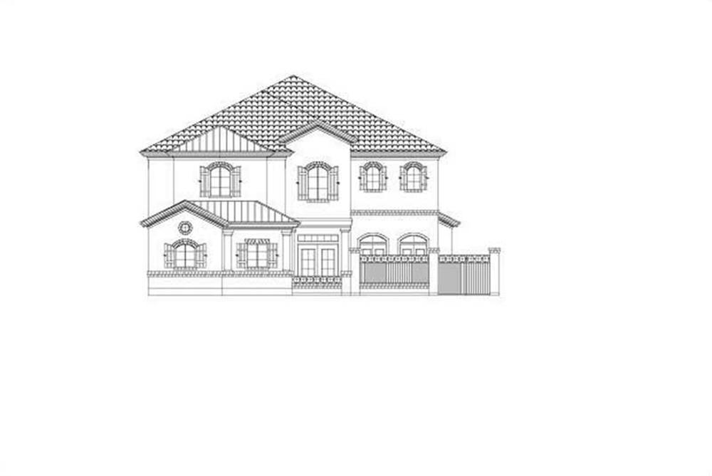 Main image for house plan # 15812