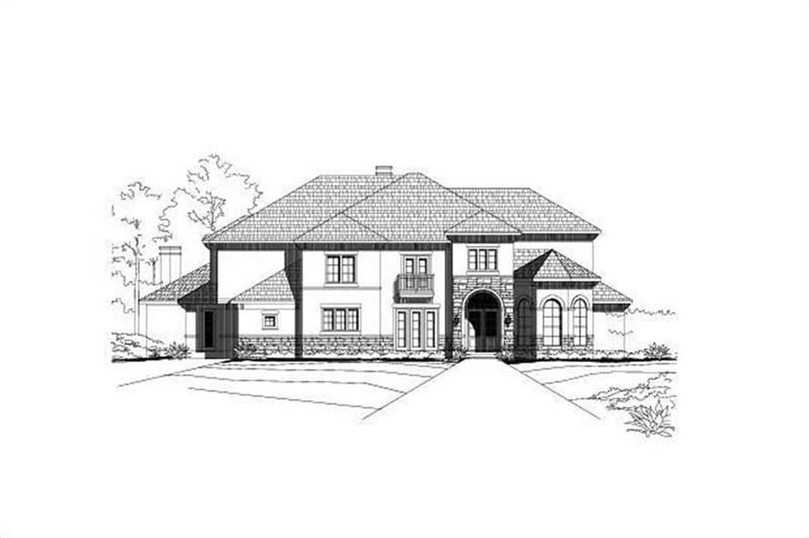 Main image for luxury house plan # 19551