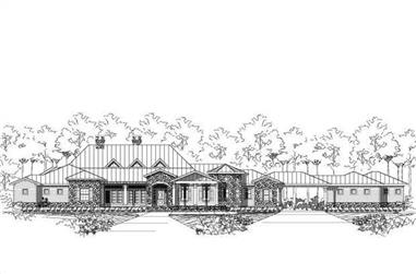 Main image for house plan # 15669