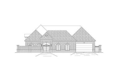 3-Bedroom, 3710 Sq Ft Luxury Home Plan - 156-2120 - Main Exterior