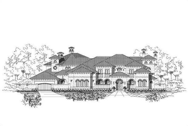 Main image for house plan # 19456