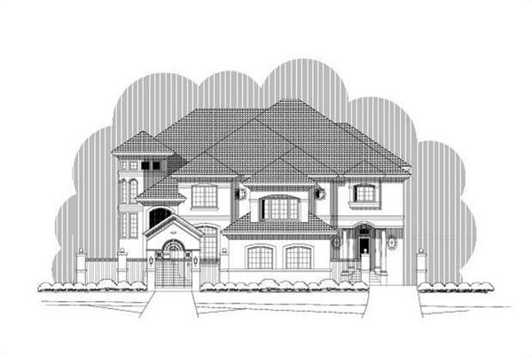Main image for luxury house plan # 19704