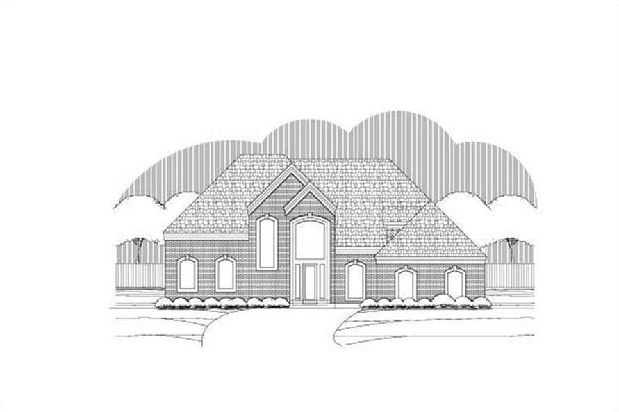 Main image for house plan # 19710