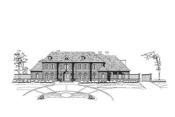 Main image for luxury house plan # 19720