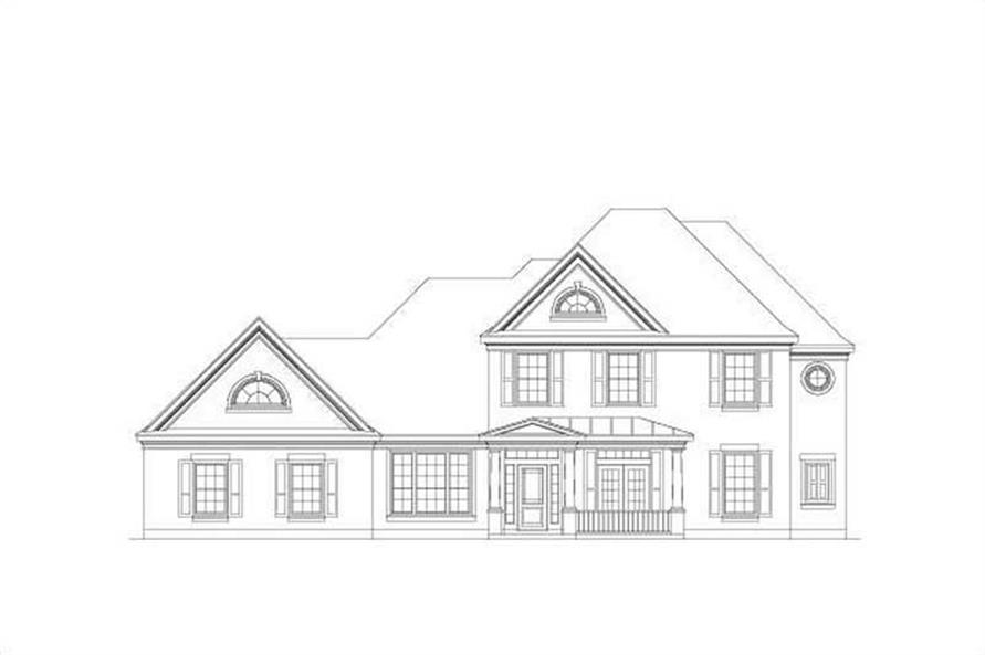 Main image for house plan # 19574